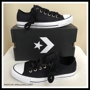 Converse Shoes - CONVERSE LUXE VELVET LACES LO OX SUEDE SNEAKERS